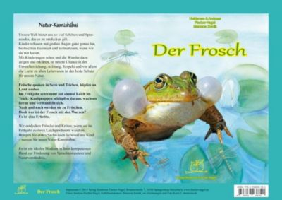 Der Frosch. Natur-Kamishibai, Heiderose Fischer-Nagel, Andreas Fischer-Nagel