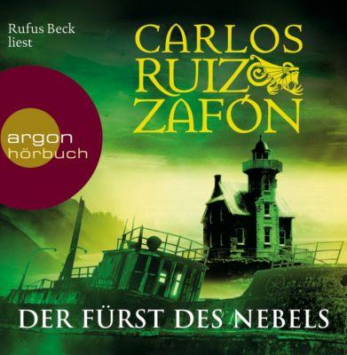 Der Fürst des Nebels, 5 Audio-CDs, Carlos Ruiz Zafón