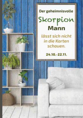 Der geheimnisvolle Skorpion Mann lässt sich nicht in die Karten schauen, Silvia Kaufer
