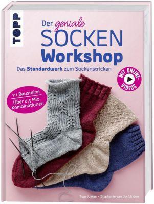 Der geniale Sockenworkshop, Stephanie van der Linden, Ewa Jostes