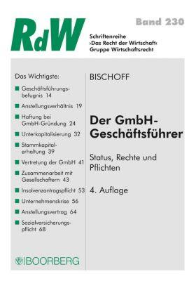 Der GmbH-Geschäftsführer, Thomas Bischoff