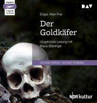 Der Goldkäfer, 1 MP3-CD, Edgar Allan Poe