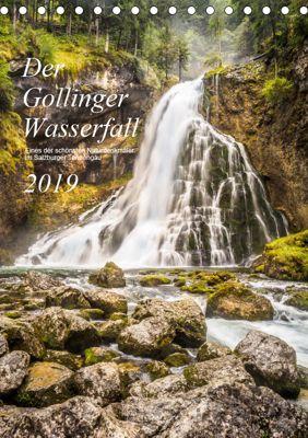 Der Gollinger Wasserfall (Tischkalender 2019 DIN A5 hoch), Thomas Reicher