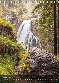 Der Gollinger Wasserfall (Tischkalender 2019 DIN A5 hoch) - Produktdetailbild 1