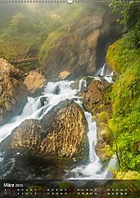 Der Gollinger Wasserfall (Wandkalender 2019 DIN A2 hoch) - Produktdetailbild 3