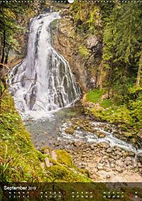 Der Gollinger Wasserfall (Wandkalender 2019 DIN A2 hoch) - Produktdetailbild 9