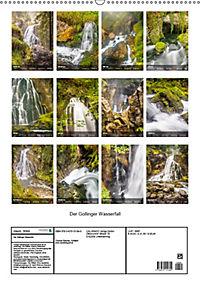 Der Gollinger Wasserfall (Wandkalender 2019 DIN A2 hoch) - Produktdetailbild 13