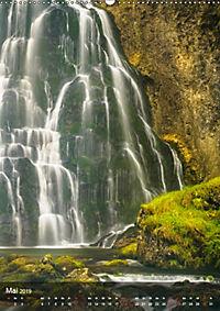 Der Gollinger Wasserfall (Wandkalender 2019 DIN A2 hoch) - Produktdetailbild 5