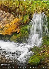 Der Gollinger Wasserfall (Wandkalender 2019 DIN A2 hoch) - Produktdetailbild 2