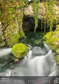 Der Gollinger Wasserfall (Wandkalender 2019 DIN A2 hoch) - Produktdetailbild 4