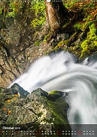 Der Gollinger Wasserfall (Wandkalender 2019 DIN A2 hoch) - Produktdetailbild 10