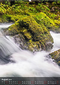 Der Gollinger Wasserfall (Wandkalender 2019 DIN A2 hoch) - Produktdetailbild 8