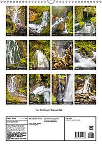 Der Gollinger Wasserfall (Wandkalender 2019 DIN A3 hoch) - Produktdetailbild 13