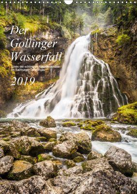 Der Gollinger Wasserfall (Wandkalender 2019 DIN A3 hoch), Thomas Reicher