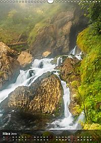 Der Gollinger Wasserfall (Wandkalender 2019 DIN A3 hoch) - Produktdetailbild 3
