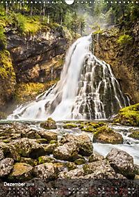 Der Gollinger Wasserfall (Wandkalender 2019 DIN A3 hoch) - Produktdetailbild 12