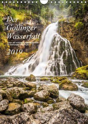 Der Gollinger Wasserfall (Wandkalender 2019 DIN A4 hoch), Thomas Reicher