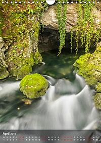 Der Gollinger Wasserfall (Wandkalender 2019 DIN A4 hoch) - Produktdetailbild 4