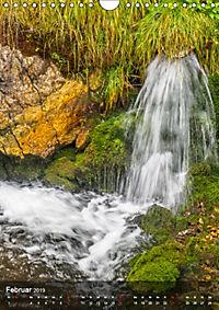 Der Gollinger Wasserfall (Wandkalender 2019 DIN A4 hoch) - Produktdetailbild 2