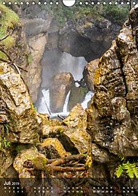 Der Gollinger Wasserfall (Wandkalender 2019 DIN A4 hoch) - Produktdetailbild 7