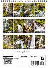 Der Gollinger Wasserfall (Wandkalender 2019 DIN A4 hoch) - Produktdetailbild 13