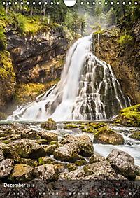 Der Gollinger Wasserfall (Wandkalender 2019 DIN A4 hoch) - Produktdetailbild 12