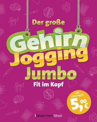 Der große Gehirnjogging-Jumbo - Fit im Kopf - Eberhard Krüger |