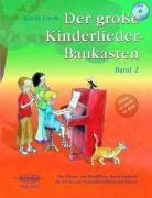Der große Kinderlieder-Baukasten, für 1-2 Sopranblockflöten und Klavier, m. Audio-CD, Spielpartitur