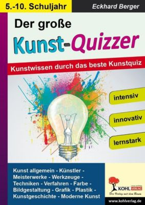 Der grosse KUNST-QUIZZER, Eckhard Berger