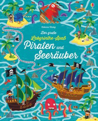 Der grosse Labyrinthe-Spass: Piraten und Seeräuber, Kirsteen Robson