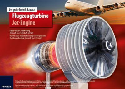 Der große Technikbausatz Flugzeugturbine / Jet-Engine, Thomas Riegler