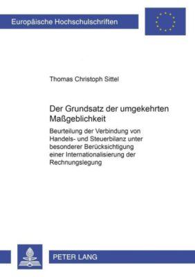 Der Grundsatz der umgekehrten Maßgeblichkeit, Thomas Christoph Sittel