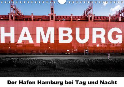 Der Hafen Hamburg bei Tag und Nacht (Wandkalender 2019 DIN A4 quer), Matthias Voss