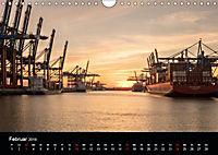 Der Hafen Hamburg bei Tag und Nacht (Wandkalender 2019 DIN A4 quer) - Produktdetailbild 2