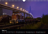 Der Hafen Hamburg bei Tag und Nacht (Wandkalender 2019 DIN A4 quer) - Produktdetailbild 3