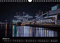 Der Hafen Hamburg bei Tag und Nacht (Wandkalender 2019 DIN A4 quer) - Produktdetailbild 1