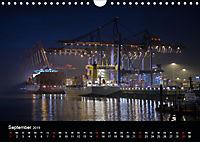 Der Hafen Hamburg bei Tag und Nacht (Wandkalender 2019 DIN A4 quer) - Produktdetailbild 9