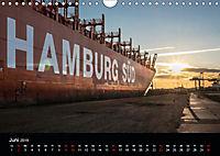 Der Hafen Hamburg bei Tag und Nacht (Wandkalender 2019 DIN A4 quer) - Produktdetailbild 6