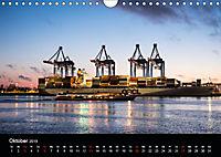 Der Hafen Hamburg bei Tag und Nacht (Wandkalender 2019 DIN A4 quer) - Produktdetailbild 10