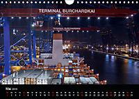 Der Hafen Hamburg bei Tag und Nacht (Wandkalender 2019 DIN A4 quer) - Produktdetailbild 5