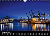 Der Hafen Hamburg bei Tag und Nacht (Wandkalender 2019 DIN A4 quer) - Produktdetailbild 11