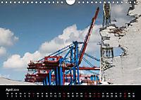 Der Hafen Hamburg bei Tag und Nacht (Wandkalender 2019 DIN A4 quer) - Produktdetailbild 4