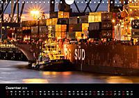 Der Hafen Hamburg bei Tag und Nacht (Wandkalender 2019 DIN A4 quer) - Produktdetailbild 12