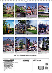 Der Harz und seine Sehenswürdigkeiten (Wandkalender 2019 DIN A3 hoch) - Produktdetailbild 13