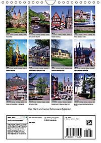 Der Harz und seine Sehenswürdigkeiten (Wandkalender 2019 DIN A4 hoch) - Produktdetailbild 13