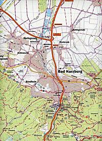 Der Harzer Grenzweg, Wander- und Fahrradkarte - Produktdetailbild 1