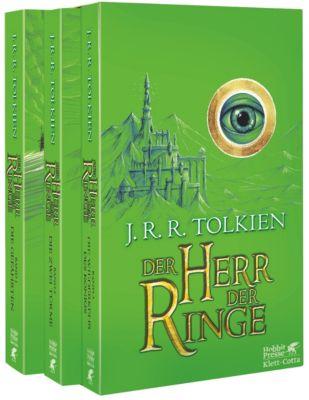 Der Herr der Ringe, 3 Bde. (Grüne Ausgabe), J.R.R. Tolkien
