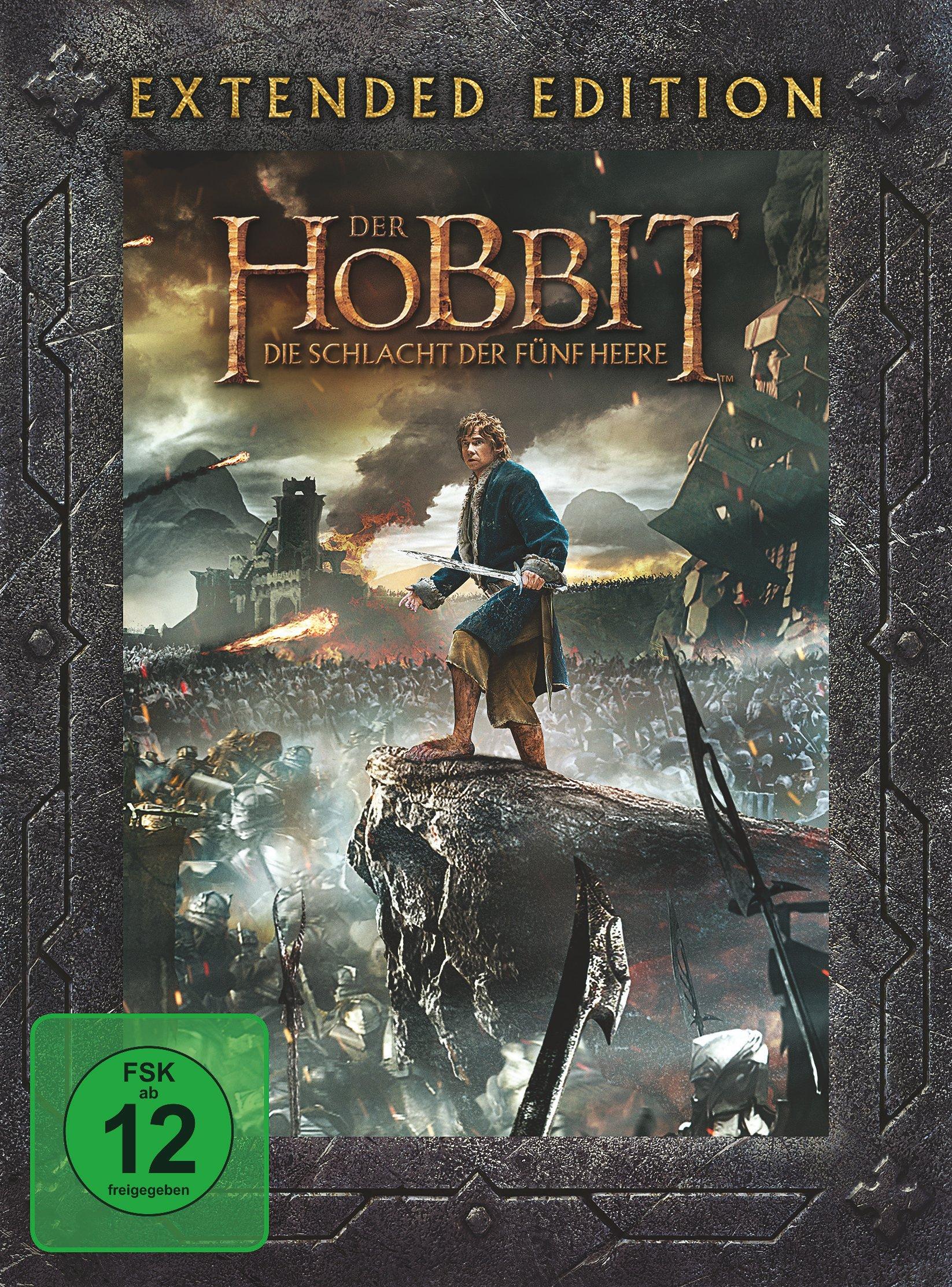 Der Hobbit 3 Die Schlacht Der Fünf Heere Extended Film Weltbildde