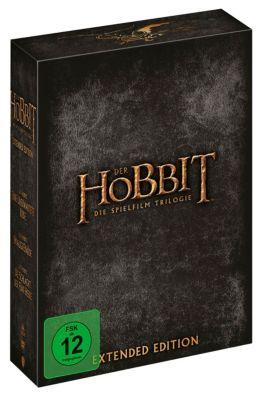 Der Hobbit - Die Spielfilm-Trilogie (Extended Version, 15 DVDs), John R. R. Tolkien