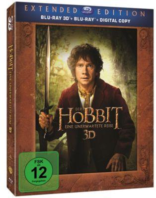 Der Hobbit: Eine unerwartete Reise - Extended Edition 3D